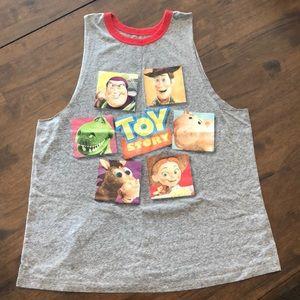 Toy story vintage sleeveless tank top